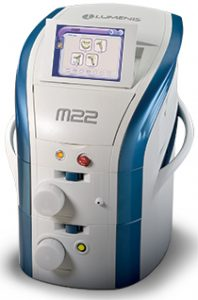 Lasergerät M22 mit angeschaltetem Display